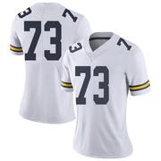 Limited Women's Willie Allen Michigan Wolverines White Brand Jordan Football College Jersey